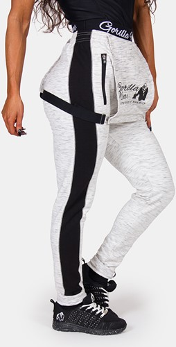 Dolores Dungarees - Gray/Black-2