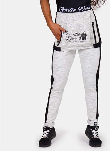 Dolores Dungarees - Gray/Black - XS