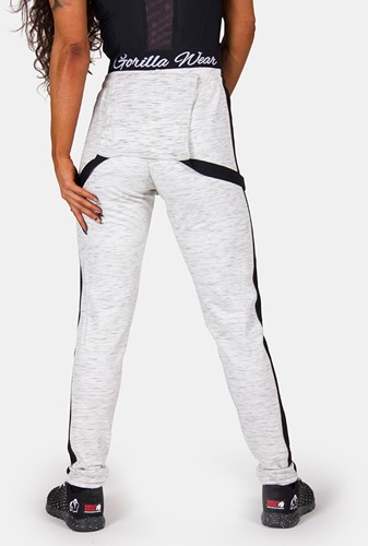 Dolores Dungarees - Gray/Black-3