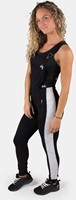 Dolores Dungarees - Black/Gray-2