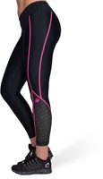 Carlin Compression Tight - Black/Pink-3