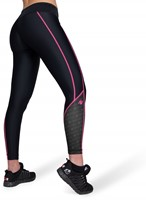 Carlin Compression Tight - Black/Pink-2