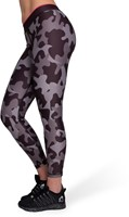 Camo Tights - Black/Gray-3