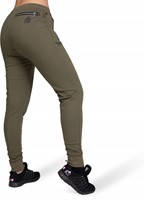 Celina Drop Crotch Joggers - Army Green-2