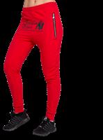 Celina Drop Crotch Joggers - Red