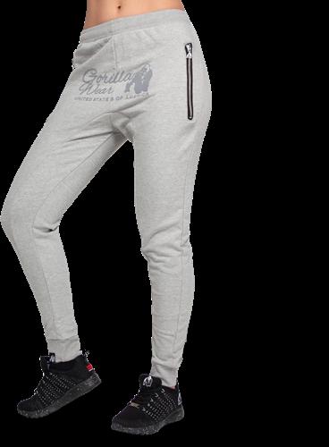 Celina Drop Crotch Joggers - Gray - M