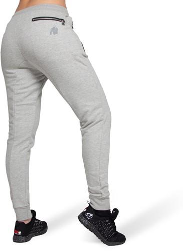 Celina Drop Crotch Joggers - Gray-2