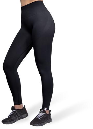 Yava Seamless Leggings - Black