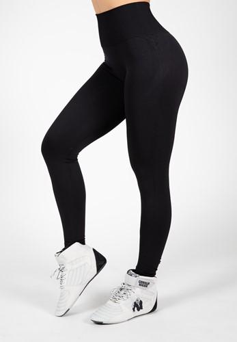 Yava Seamless Leggings - Black - S/M