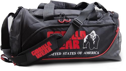Jerome Gym Bag -  Black/Red-2