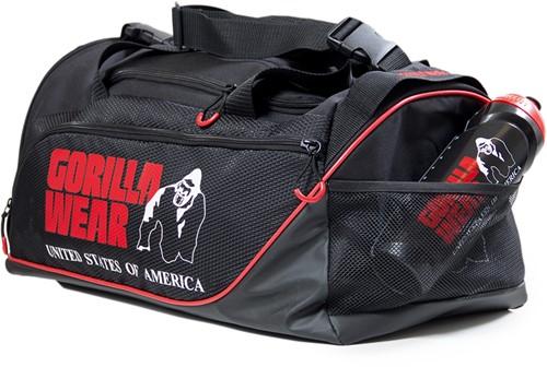 Jerome Gym Bag -  Black/Red-3