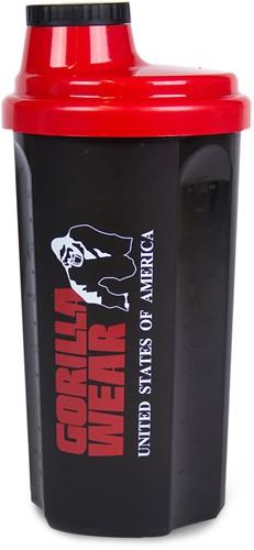 Gorilla Wear Shaker 700ML - Black/Red