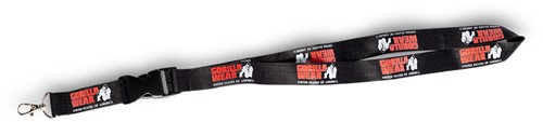 Lanyard Black/Red