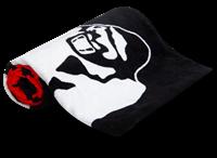 Classic Gym Towel - Black/Red-2