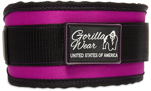 Women's Lifting Belt - Black/ Purple