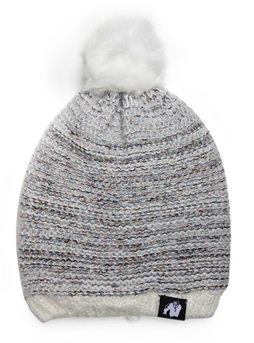 Bellevue Beanie - White/Gray