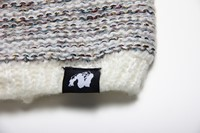 Bellevue Beanie - White/Gray-2