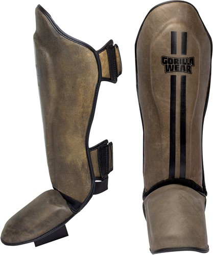 Yeso Shin Guards - Vintage Brown