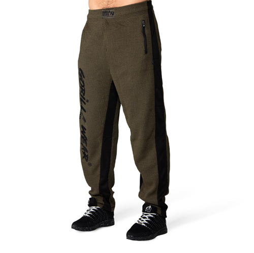 Augustine Old School Pants - Army Green-L/XL