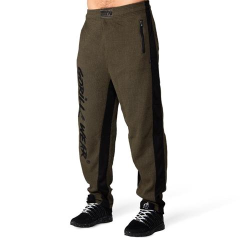 Augustine Old School Pants - Army Green-S/M
