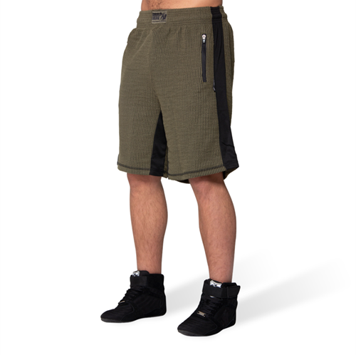 Augustine Old School Shorts - Army Green-S/M