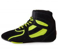 """Chicago High Tops - Black/ Neon Lime Limited""""""""""""""""-3"""