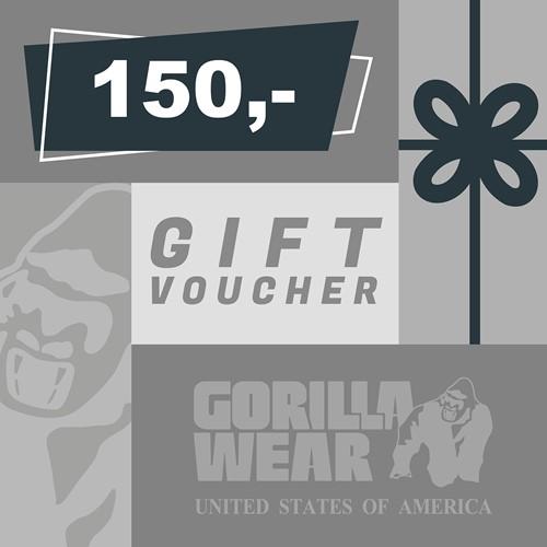 Gorilla Wear Gift Voucher 150