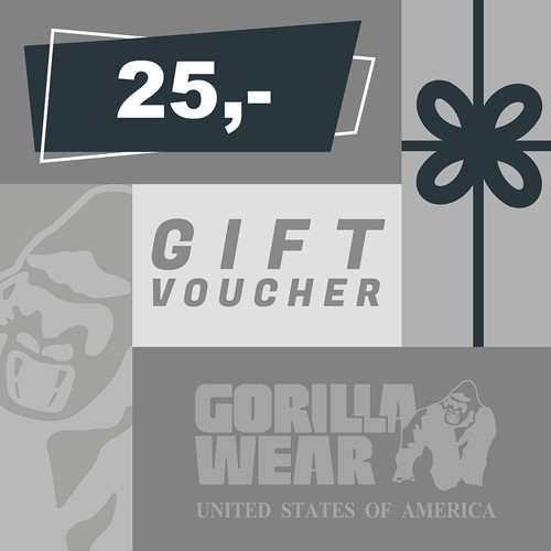 Gorilla Wear Gift Voucher 25