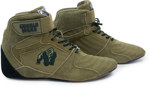 Perry High Tops Pro - Army Green-3