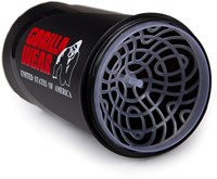 Gorilla Wear Wave Shaker 600ML - Black/Red-3